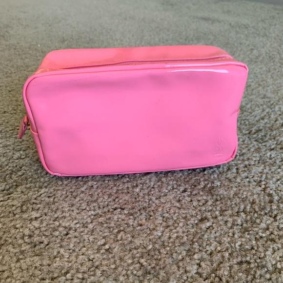 e3c04ad4b02 Yves Saint Laurent Bags | Pink Ysl Cosmetics Bag | Poshmark